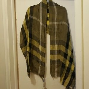 Authentic women burberry scarf